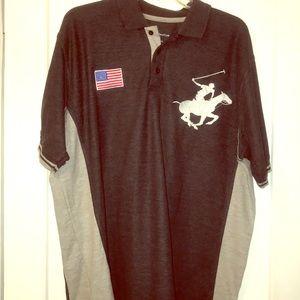 💥FINAL SALE💥Gray Beverly Hills Polo Shirt